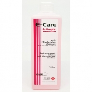 E-care Hand Sanitizer Antiseptik 500 ML Original Ready Stock