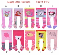 Legging Cotton Rich Tights Girl - PL4472