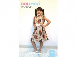 Dress Dolimoli School Edition H - GD3749 / S