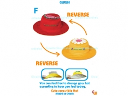 Cute Reversible Hat GW 281 F - PL3546
