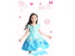 Girl Dress MA 21 D Teen - GD4527